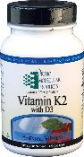 Vitamin K2 with D3, 60 Capsules