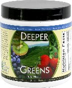 Deeper Greens, 240g Powder